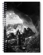 Palestine: Cave Dwelling Spiral Notebook