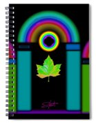 Palladian Fall Spiral Notebook