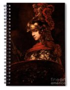 Pallas Athena  Spiral Notebook