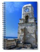 Palm Beach Clock Tower  Spiral Notebook