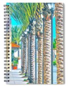 Palm Columns Spiral Notebook