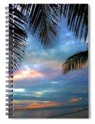 Palm Curtains Spiral Notebook