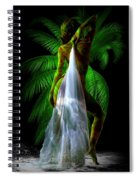 Palm Falls Spiral Notebook