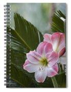 Palm Flower Spiral Notebook