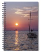 Palm Harbor Florida At Sunset Spiral Notebook