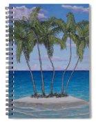 Palm Island Spiral Notebook