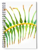 Palm Leaf Watercolor Spiral Notebook