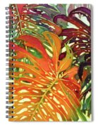 Palm Patterns 2 Spiral Notebook