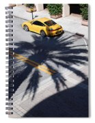 Palm Porsche Spiral Notebook