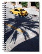 Palm Porsche Spiral Notebook