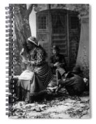 Palm Reading, C1902 Spiral Notebook
