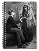 Palm-reading, C1910 Spiral Notebook