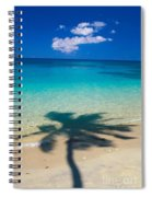 Palm Shadows Spiral Notebook