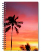 Palm Silhouettes Spiral Notebook
