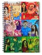 Palm Sunday Vignetes Spiral Notebook