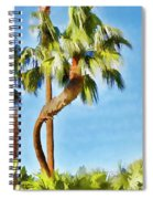 Palm Tree Needs A Chiropractor Painterly I Spiral Notebook