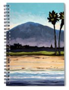 Palm Tree Oasis Spiral Notebook