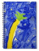 Palm Tree And Stars Spiral Notebook