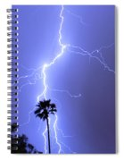 Palm Tree On Strike Spiral Notebook