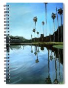 Palm Tree Reflections Spiral Notebook