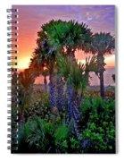 Palm Tree Sunset Spiral Notebook