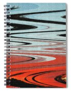 Palm Trees Abstract Design Spiral Notebook