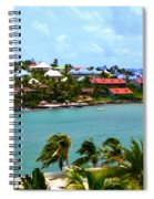 Palm Trees Of Oyster Bay Spiral Notebook