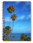 Palm Trees On The Pacific Spiral Notebook