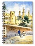 Palma De Mallorca Cathedral Spiral Notebook