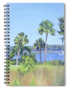 Palmetto Bluff Backyard Spiral Notebook