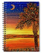 Palmetto Sunset  Spiral Notebook