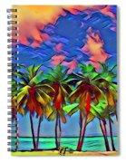 Palms 2 Spiral Notebook