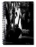 Palms And Arches Spiral Notebook