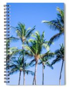 Palms In Living Harmony Spiral Notebook