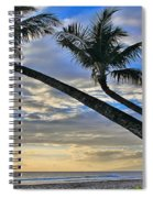 Palms Of Kaanapali Spiral Notebook