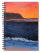 Palos Verdes Sunset Spiral Notebook