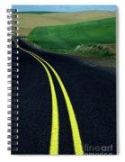 Palouse Back Road Spiral Notebook