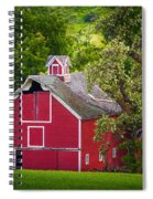 Palouse Barn Number 9 Spiral Notebook
