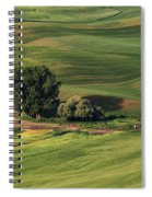 Palouse Farm 1 Spiral Notebook