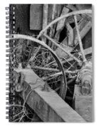 Palouse Farm Wheels 3156 Spiral Notebook