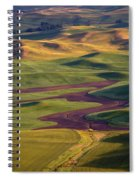 Palouse Hills Spiral Notebook