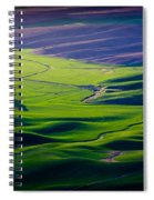 Palouse - Later Afternoon Spiral Notebook
