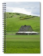Palouse Old Barn Spiral Notebook