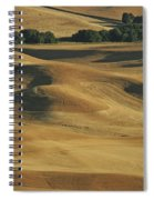 Palouse Patchwork By Jean Noren Spiral Notebook