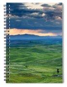 Palouse Storm Spiral Notebook