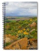 Palouse Sunflowers Spiral Notebook