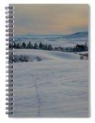 Palouse Tracks Spiral Notebook