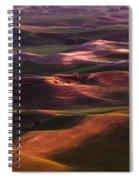 Palouse Undulation Spiral Notebook