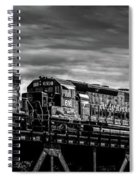 Pan Am Railways 618 616 609 Spiral Notebook