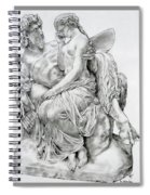 Pan Comforting Psyche Spiral Notebook